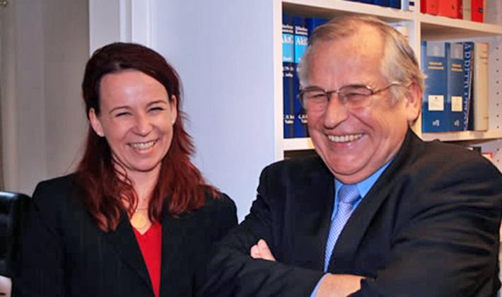 Friederike & Eike Karl Berg im Jahre 2004